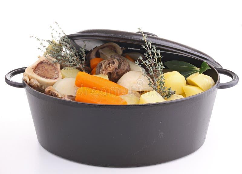 nötkött isolerad stew arkivbilder