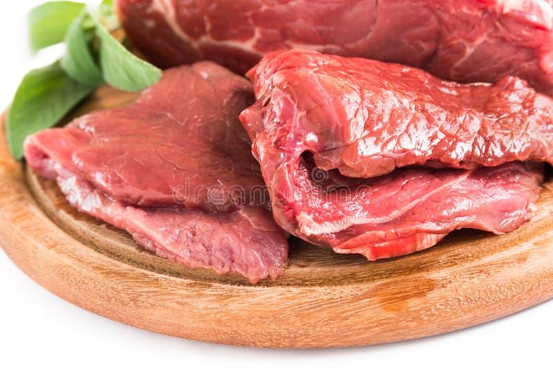 Nötköttfläskkarré arkivfoton