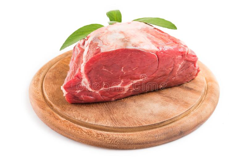 Nötköttfläskkarré royaltyfri bild