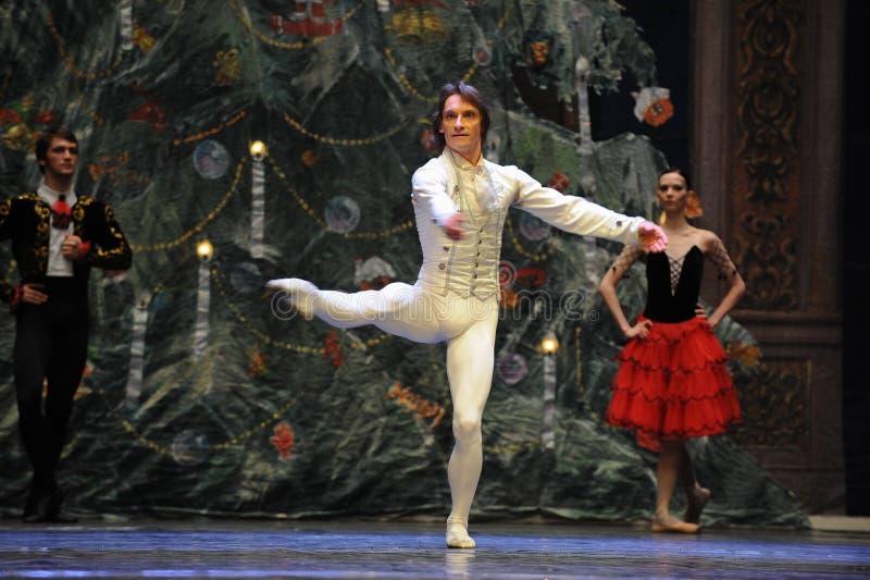Nötknäpparen för prinsshowDans-tablå 3-The balett royaltyfri foto