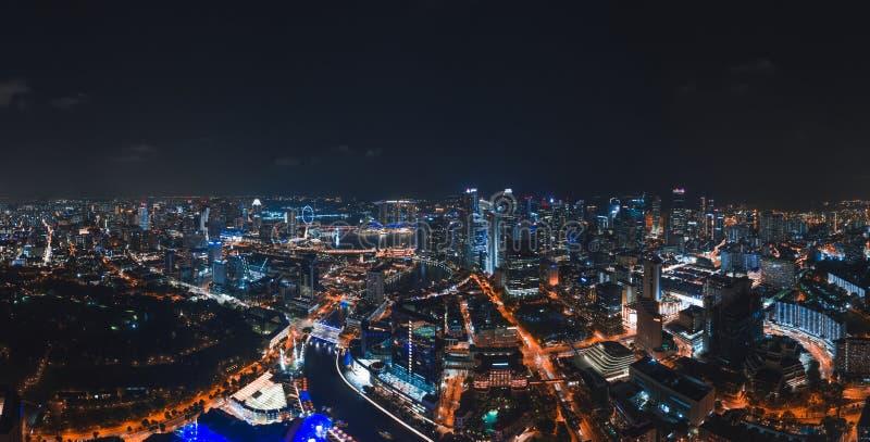 Núcleo do centro de Singapura fotografia de stock