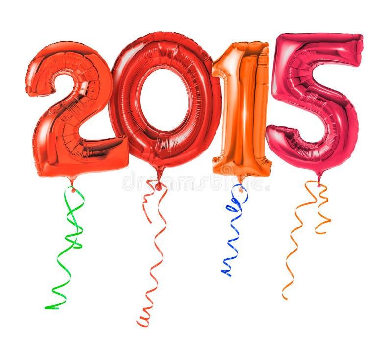 Número 2015 imagens de stock royalty free