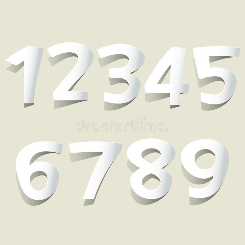 número stock de ilustración