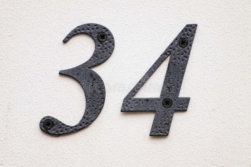 Número da casa imagens de stock royalty free