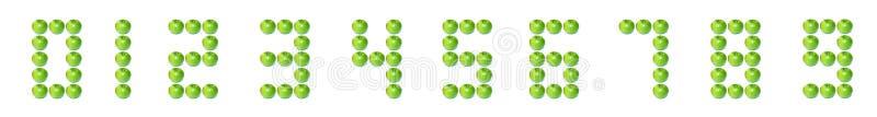 Número digital de Apple fotos de stock