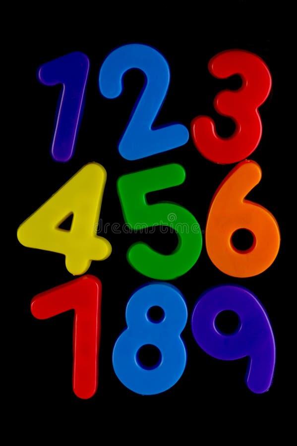 Números fotografía de archivo libre de regalías