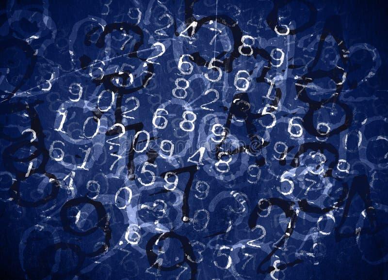 Números código imagen de archivo