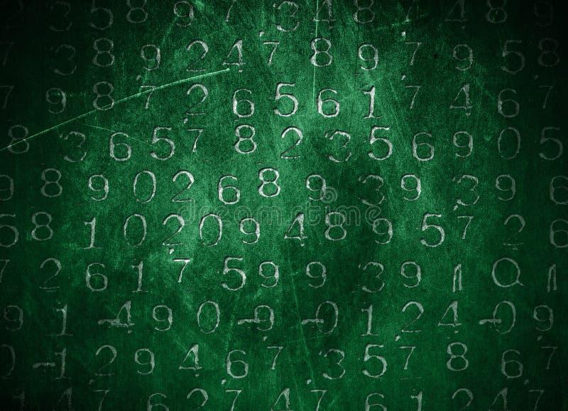 Números código foto de archivo libre de regalías