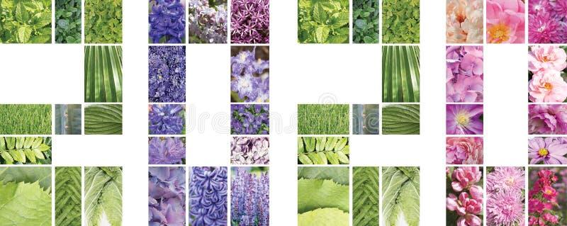 Números del Año Nuevo 2020, collage foto de archivo libre de regalías