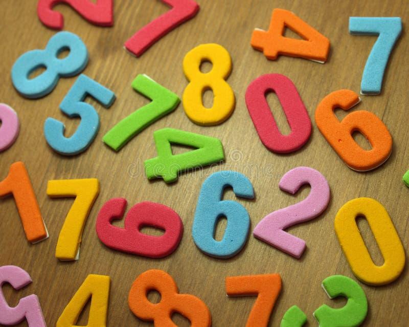Números do brinquedo foto de stock royalty free