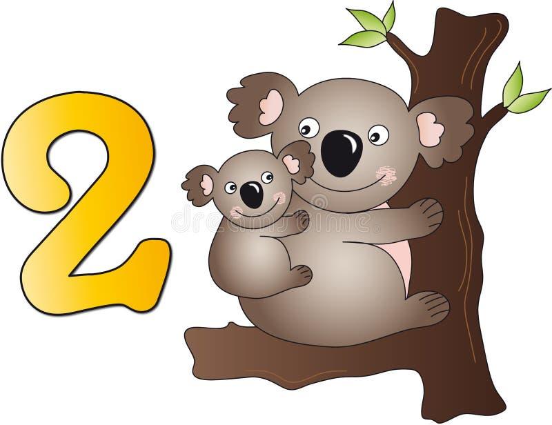 Números: dos libre illustration