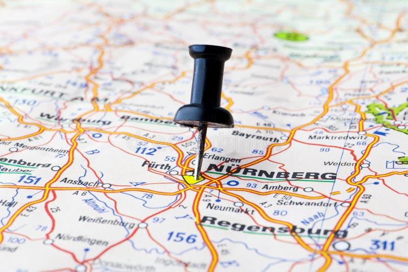 Nürnberg stockfotografie