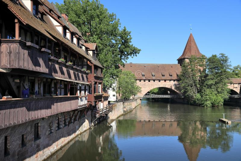 Nürnberg, Deutschland stockfotografie