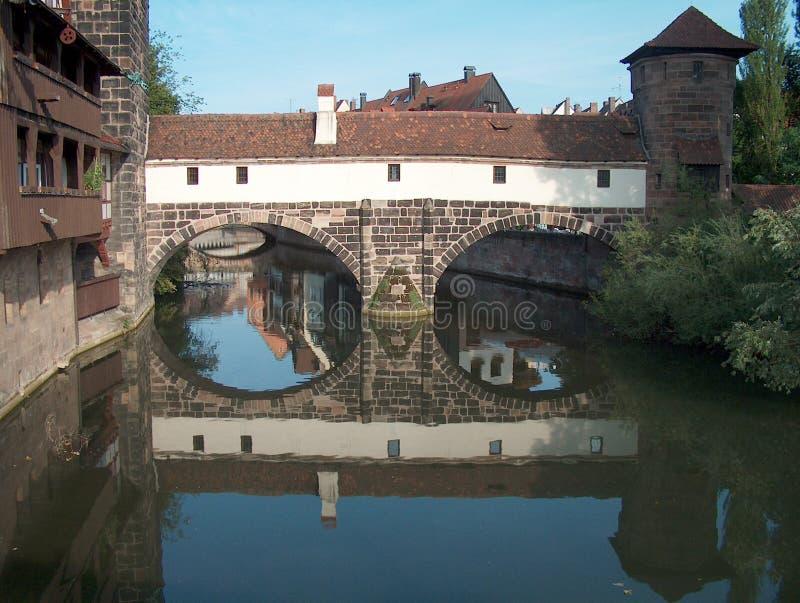 Nürnberg - Deutschland stockfotografie