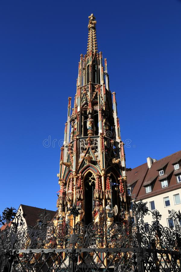 Nürnberg-Markstein, Deutschland lizenzfreie stockfotografie