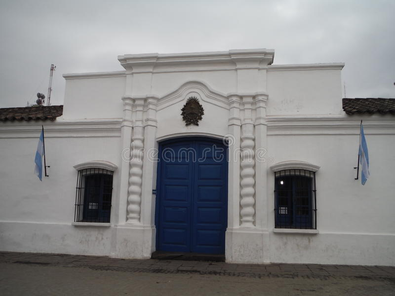 ¡ N Argentina för Casa de Tucumà ¡ n San Miguel de Tucumà royaltyfri fotografi