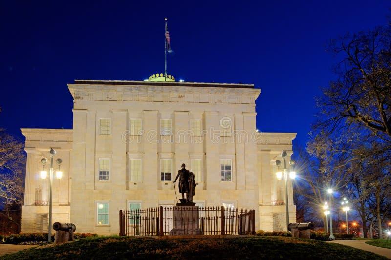 N.C. Capital del Estado, césped del sur imagen de archivo