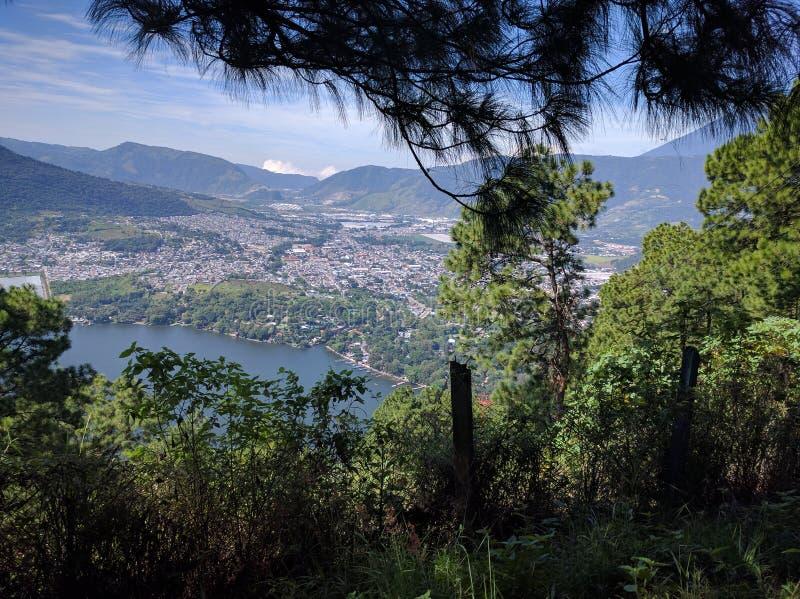 Lago de Amatitlán imágenes de archivo libres de regalías