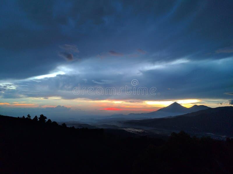 Lago de Amatitlán foto de archivo