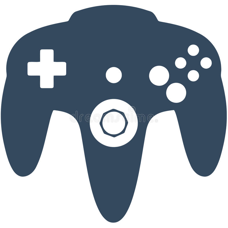 N64 gry kontroler ilustracji