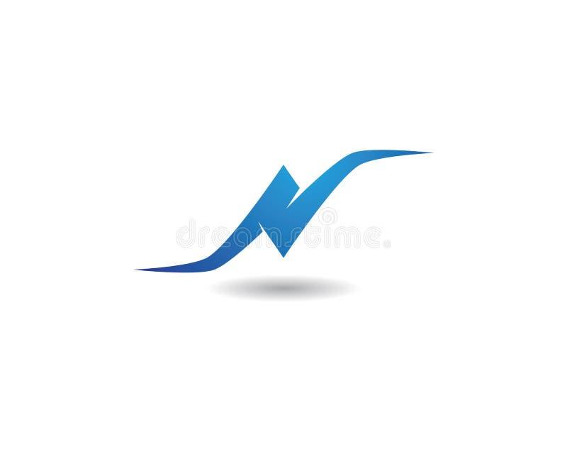 N Letter Logo. Template vector icon vector illustration