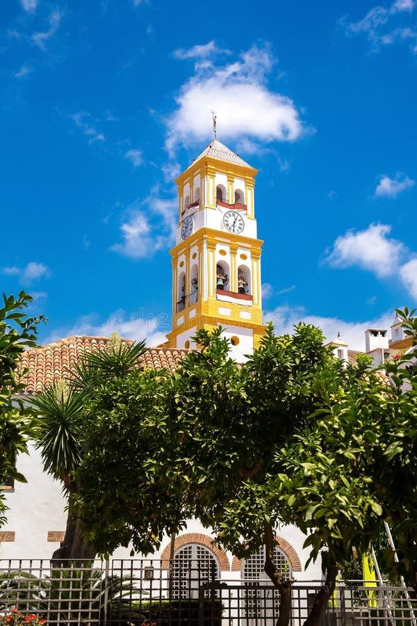 ³ n, Marbella de Encarnacià del la de Iglesia de Nuestra Señora de imagen de archivo