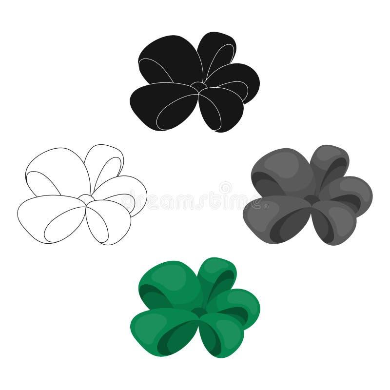 N?, ornamentals, bugigangas, e o outro ?cone da Web nos desenhos animados, estilo preto Curva, fita, decora??o, ilustração do vetor