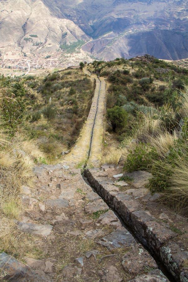 ³ n, Pérou de Tipà d'attraction photographie stock libre de droits