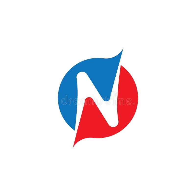 N Plantilla de logotipo de carta libre illustration