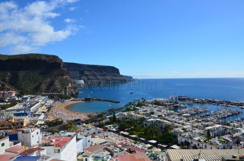 ¡ N Puerto de Mogà стоковое фото