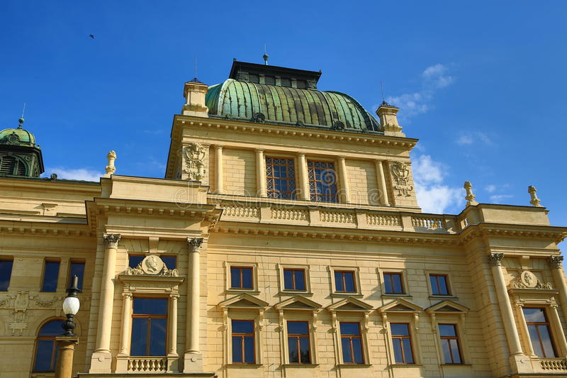 ¡ N Tyl Josefs Kajetà Theater, alte Architektur, Pilsen, Tschechische Republik lizenzfreies stockfoto