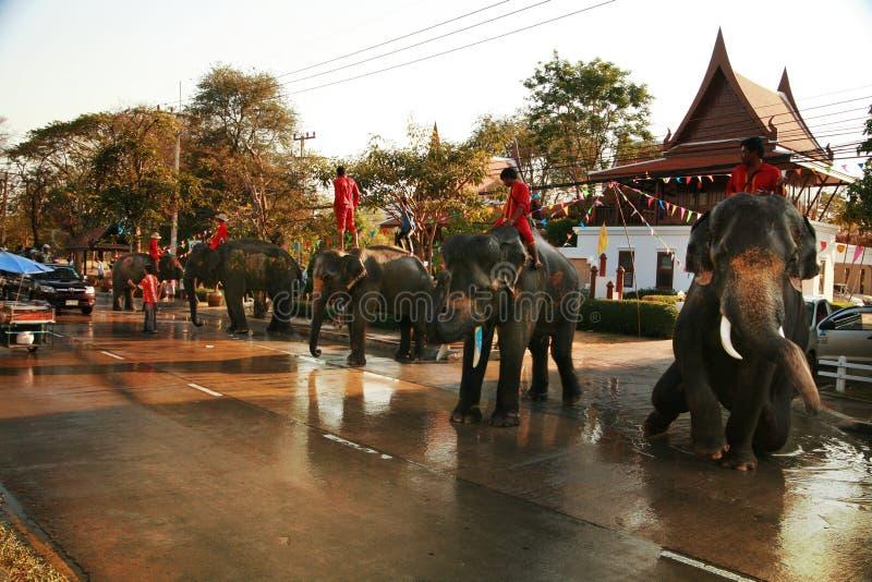 ??n van de tradities van noordelijk Thailand stock fotografie