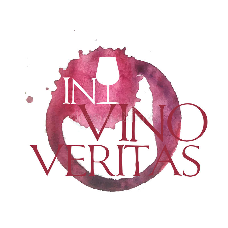 N-vinoveritas vektor illustrationer