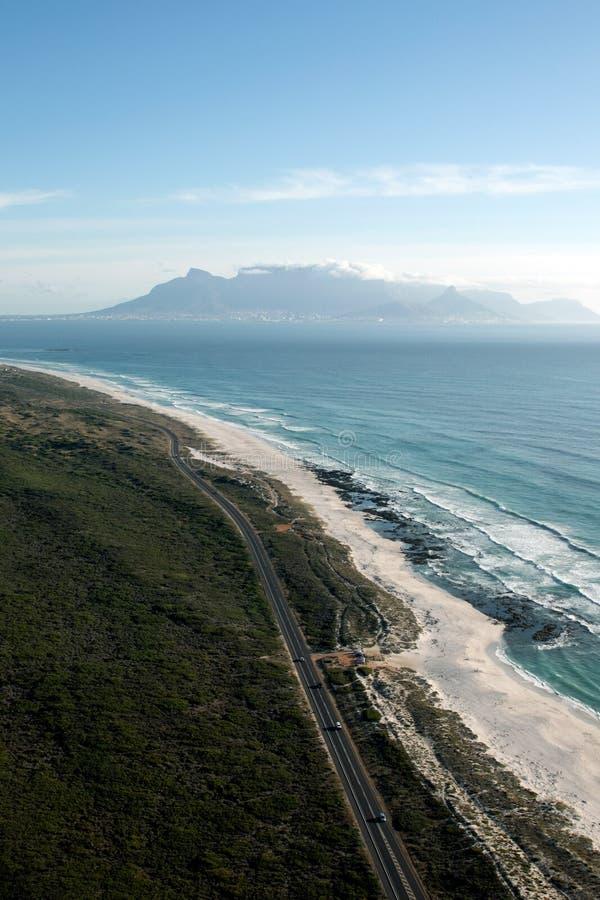 N7 weg in Cape Town stock foto's