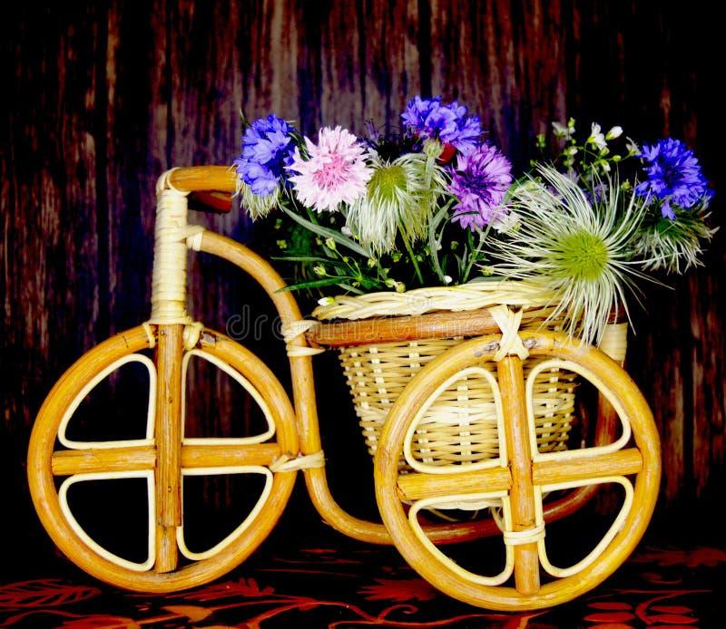 N, welches die Fernwiesen Blumen stoppen und erfassen stockbild