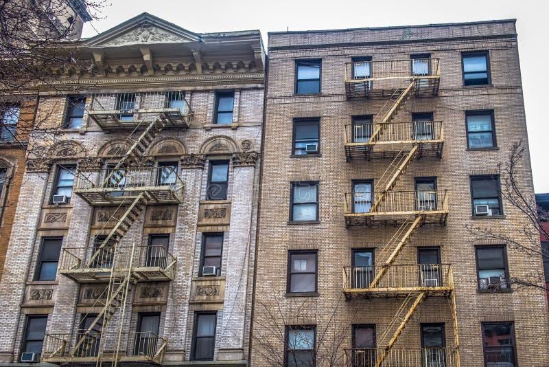 N Y C Duogebouwen stock afbeelding
