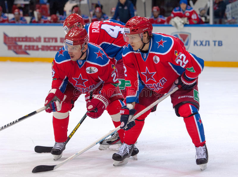 N. Zaytsev (22) and I. Grigorenko (27) royalty free stock images