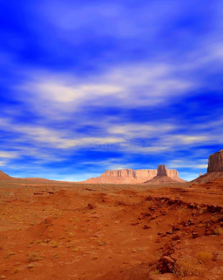 Nação Navajo de Monument Valley Arizona EUA imagem de stock royalty free