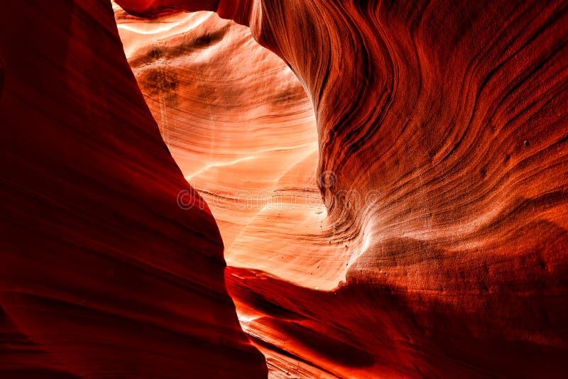 Nação o Arizona do Navajo do Arizona da garganta do antílope fotografia de stock royalty free