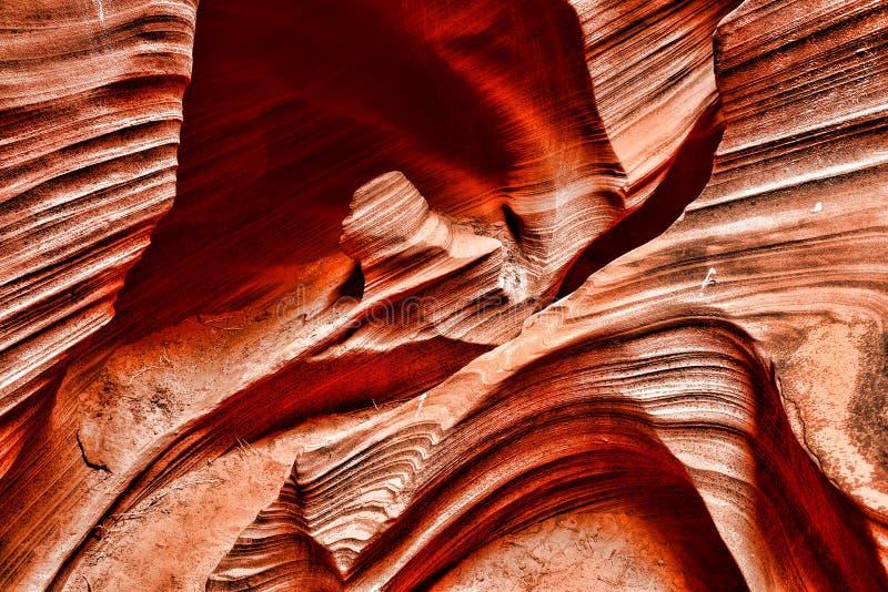 Nação o Arizona do Navajo da garganta do cascavel foto de stock