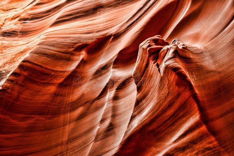 Nação o Arizona do Navajo da garganta do cascavel fotos de stock royalty free
