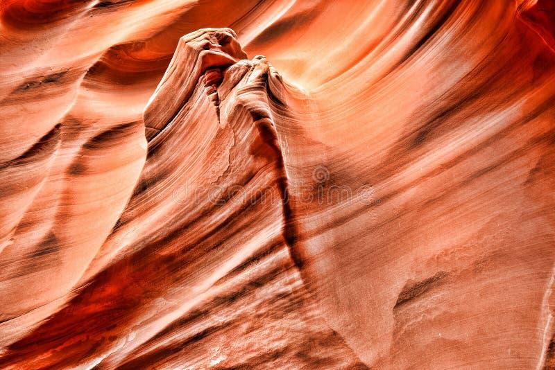 Nação o Arizona do Navajo da garganta do cascavel imagem de stock