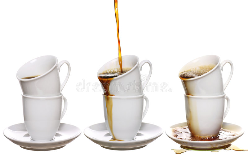 nałóg kawa fotografia royalty free