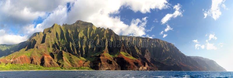 Na梵语海岸,考艾岛,夏威夷 免版税图库摄影