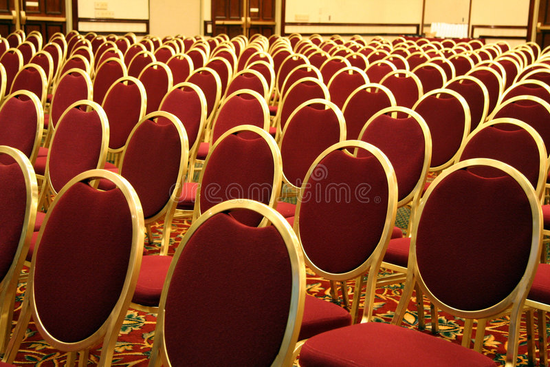 na audytorium siedzenia zdjęcia royalty free