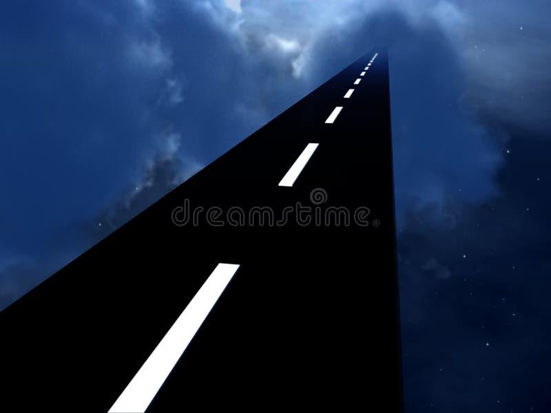 Na Autostradzie W Niebie 2 ilustracja wektor