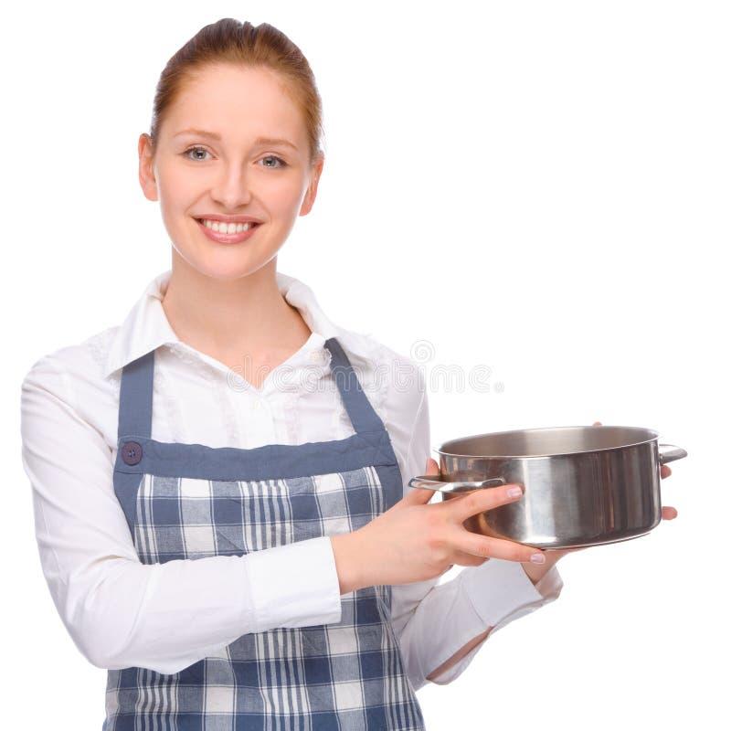 Na cozinha imagem de stock