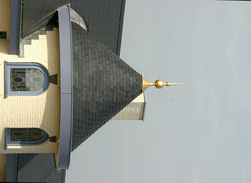 na dachu zdjęcia stock