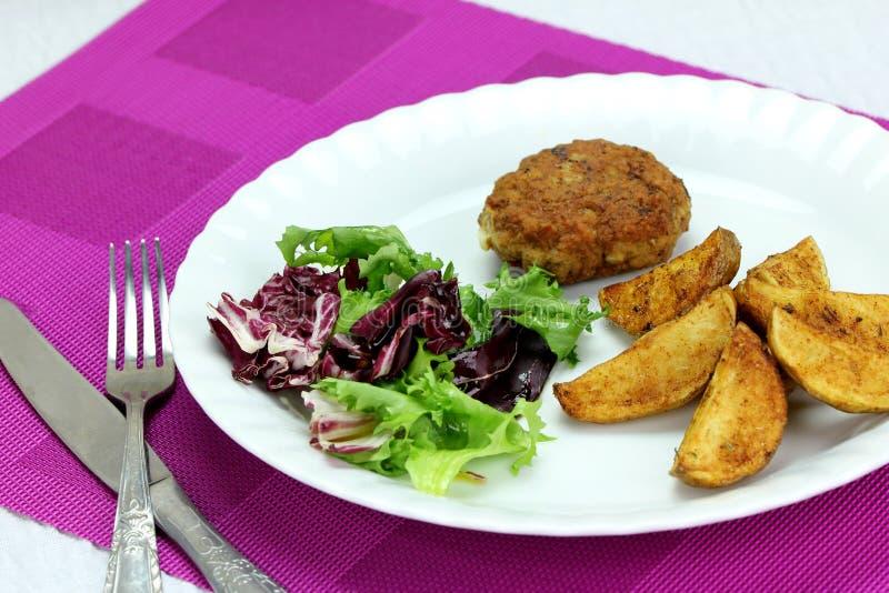 NA Danie obiad στοκ φωτογραφία