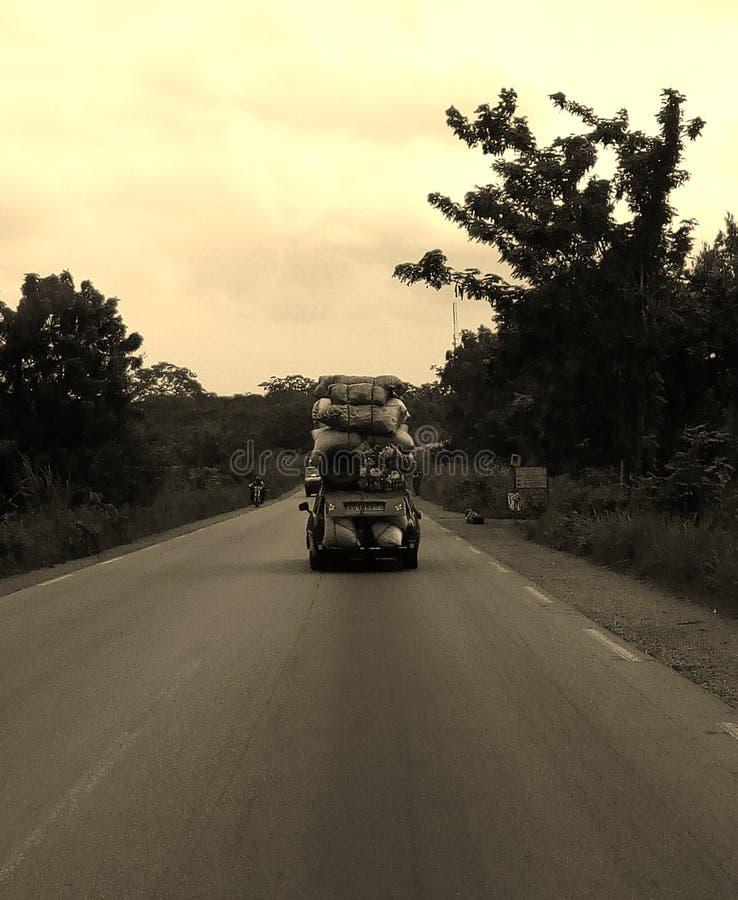 Na drodze zdjęcie royalty free